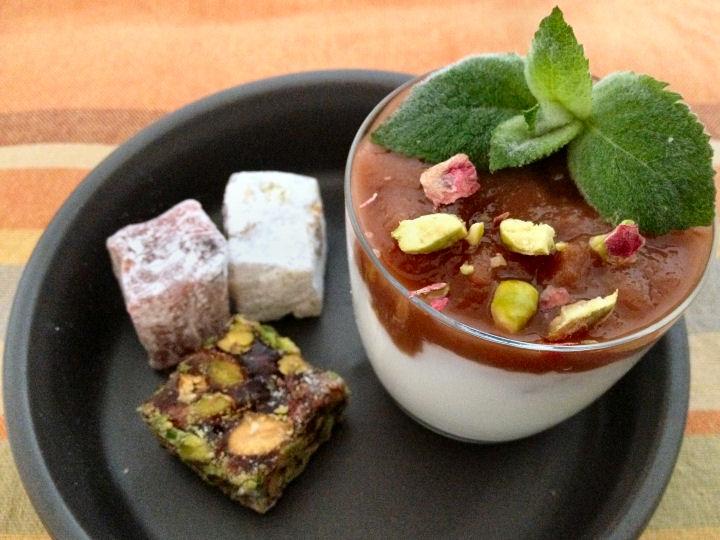 Rabarber dessert - Biltsheerlijk.nl
