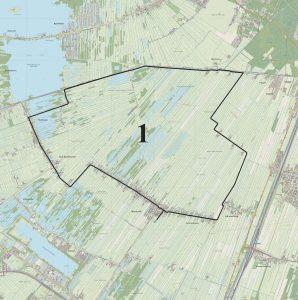 1. fietsroute Westbroek